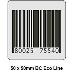 Economy RF beveiligingsstickers 50 x 50 mm voorzien van dummy barcode. Worden geleverd per rol van 1000 labels. Deactiveerbaar[…] Lees Meer…