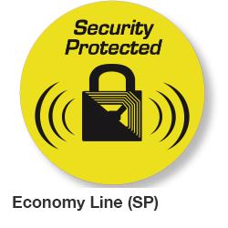 Economy RF beveiligingsstickers 40 mm rond en is voorzien van een waarschuwings lock teken. Worden geleverd per rol van 1000 labels. Deactiveerbaar[…] Lees Meer…
