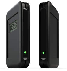 """Draadloze horizontale klantenteller, batterij gevoed dus er is geen bedrading nodig. De display geeft duidelijk de hoeveel klanten aan die er zijn gepasseerd. Met een meegeleverd magneetsleuteltje kan de teller weer op """"0"""" worden gezet. Deze klantenteller kan snel eenvoudig worden gemonteerd met behulp van de meegeleverde 3M dubbelzijdig klittenband tape. Batterijduur +/-1 jaar.[…] Lees Meer…"""